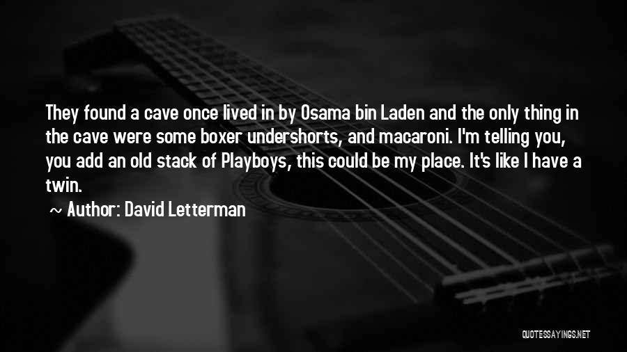 David Letterman Quotes 1761784