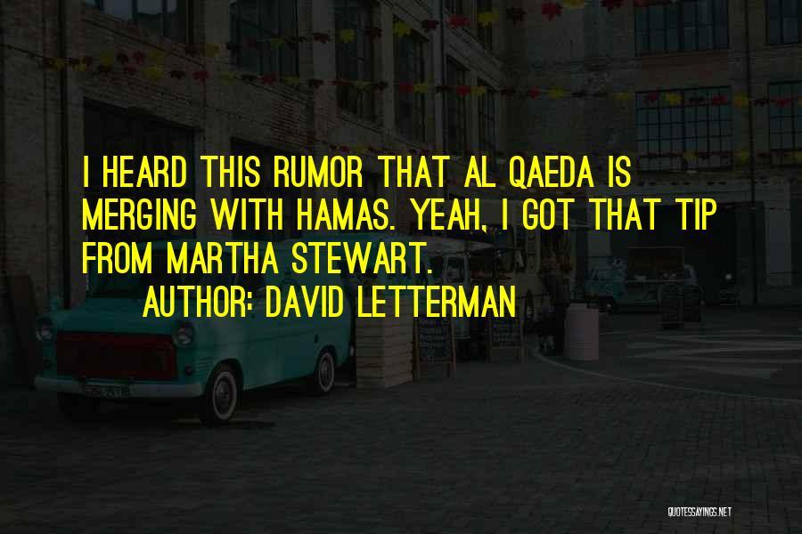 David Letterman Quotes 1766721