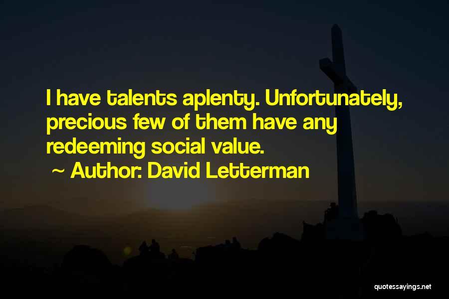 David Letterman Quotes 219879