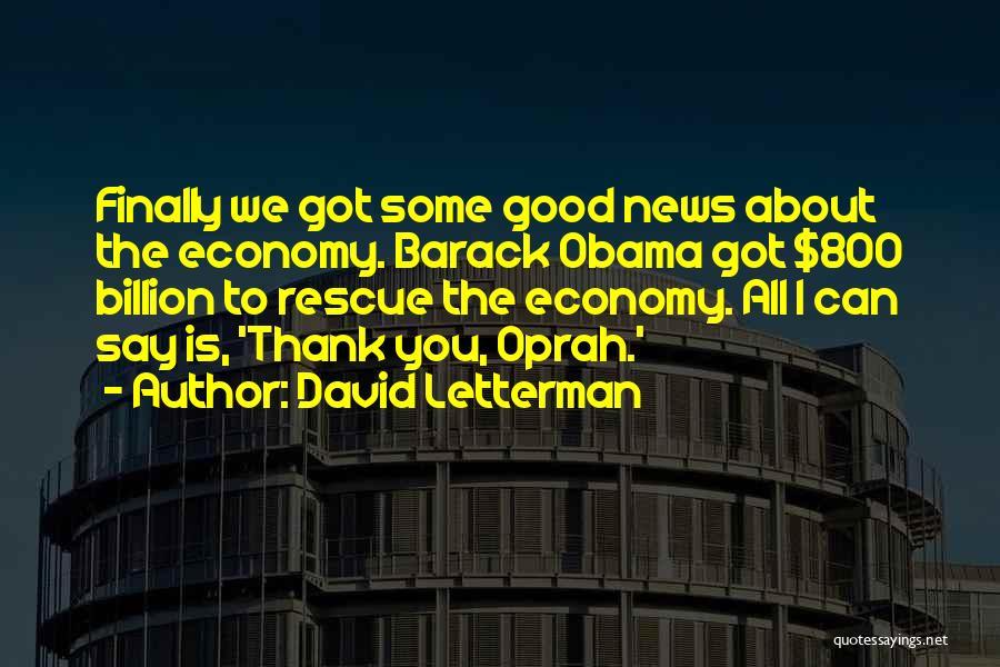 David Letterman Quotes 228665