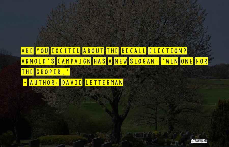 David Letterman Quotes 255801