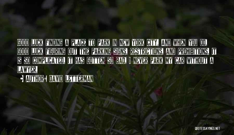 David Letterman Quotes 292582