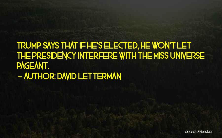 David Letterman Quotes 584727