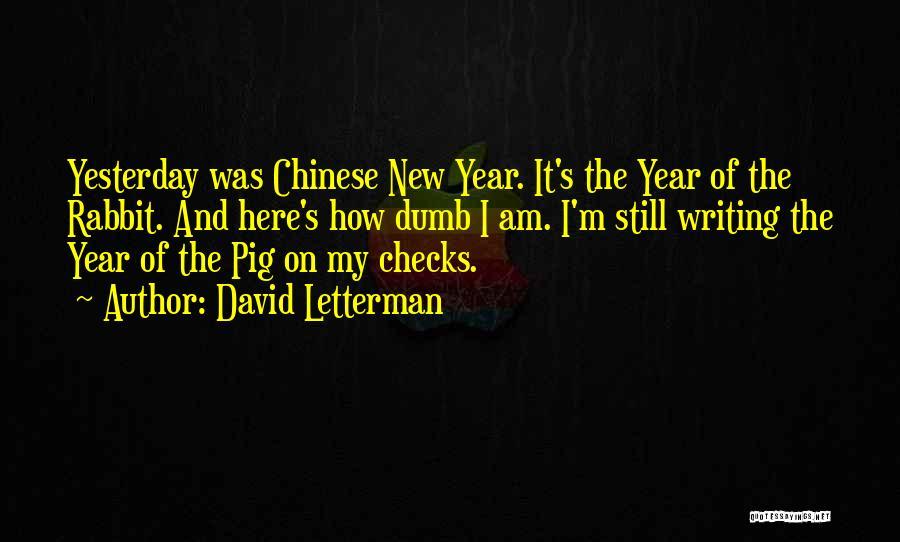 David Letterman Quotes 814187