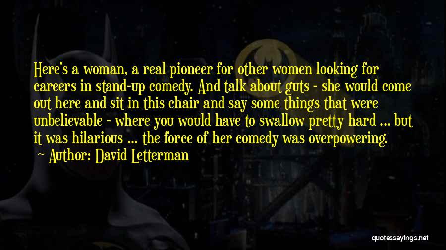 David Letterman Quotes 831351