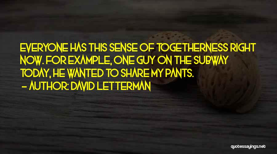 David Letterman Quotes 831609