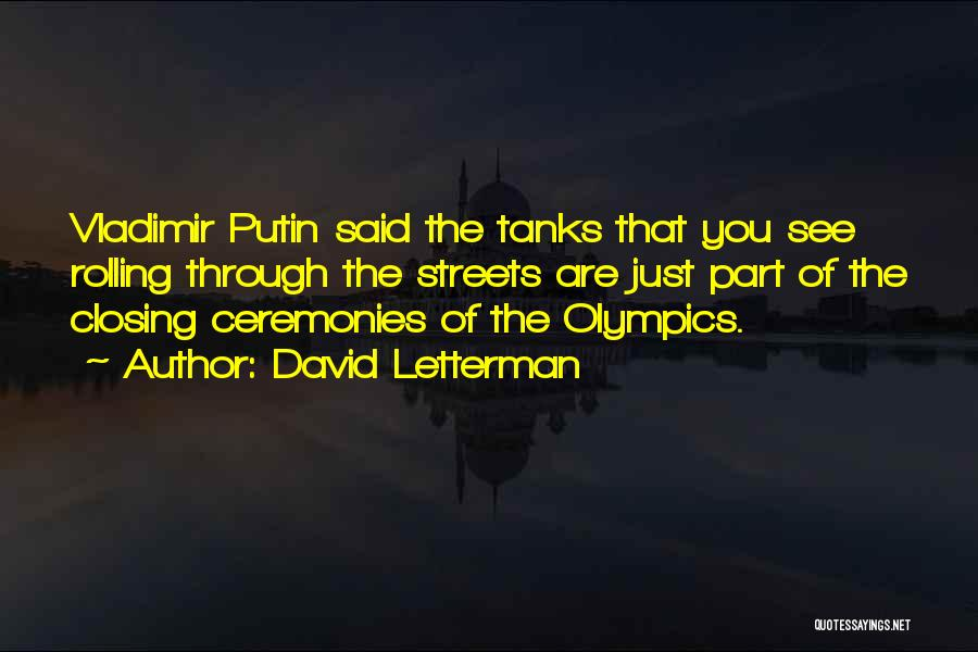 David Letterman Quotes 838737