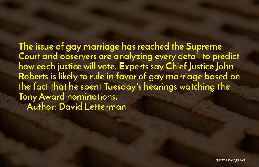 David Letterman Quotes 856479
