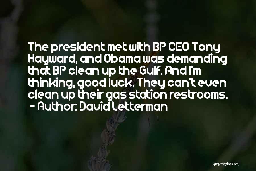 David Letterman Quotes 924470