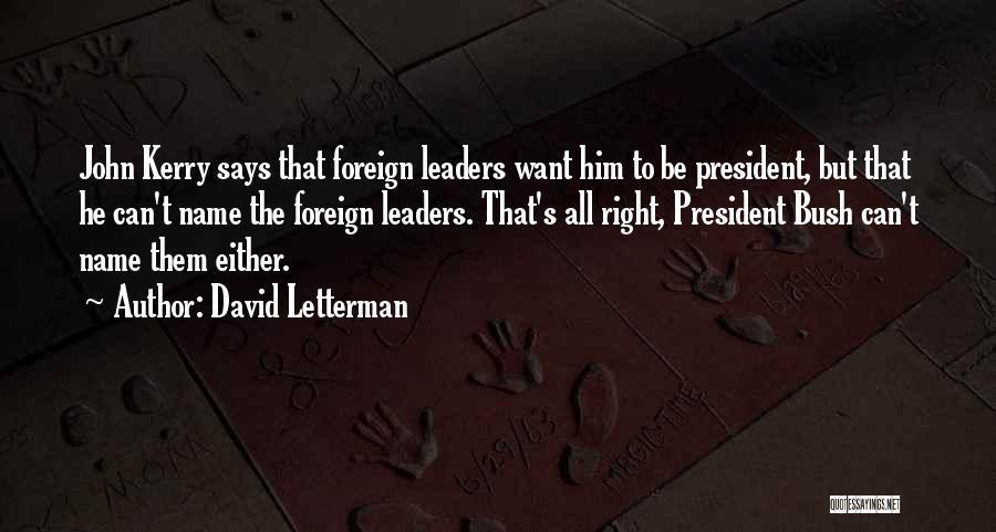 David Letterman Quotes 934262