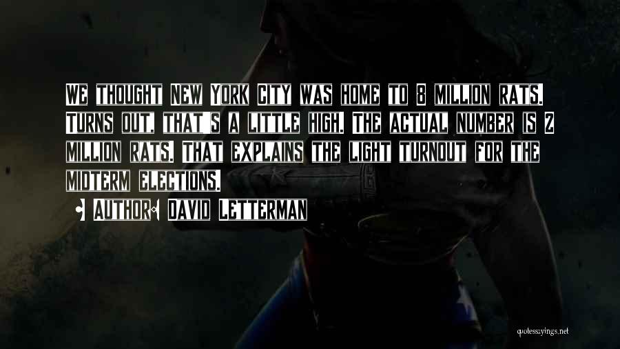 David Letterman Quotes 975520