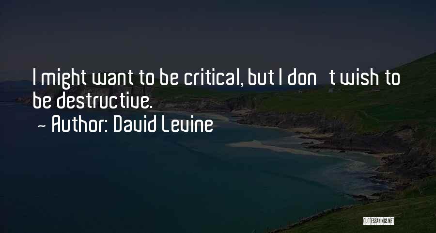 David Levine Quotes 633705