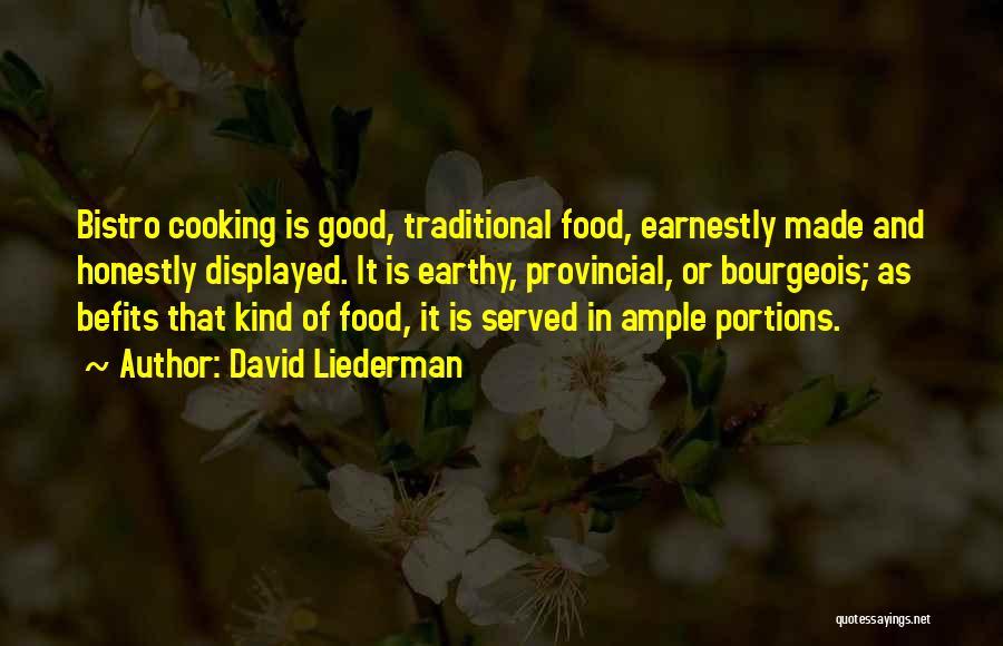 David Liederman Quotes 580886