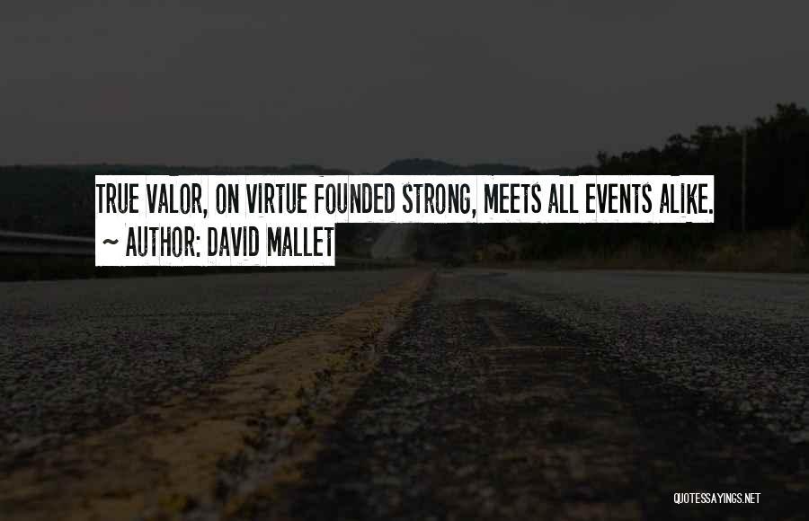 David Mallet Quotes 761107
