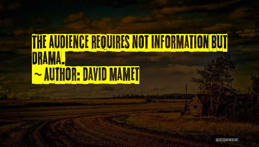 David Mamet Quotes 1009258