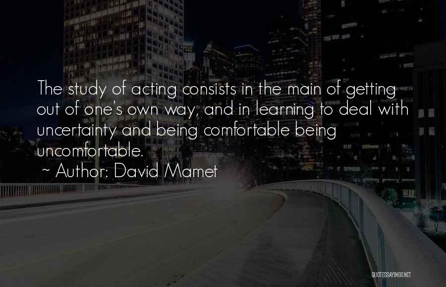 David Mamet Quotes 1187255