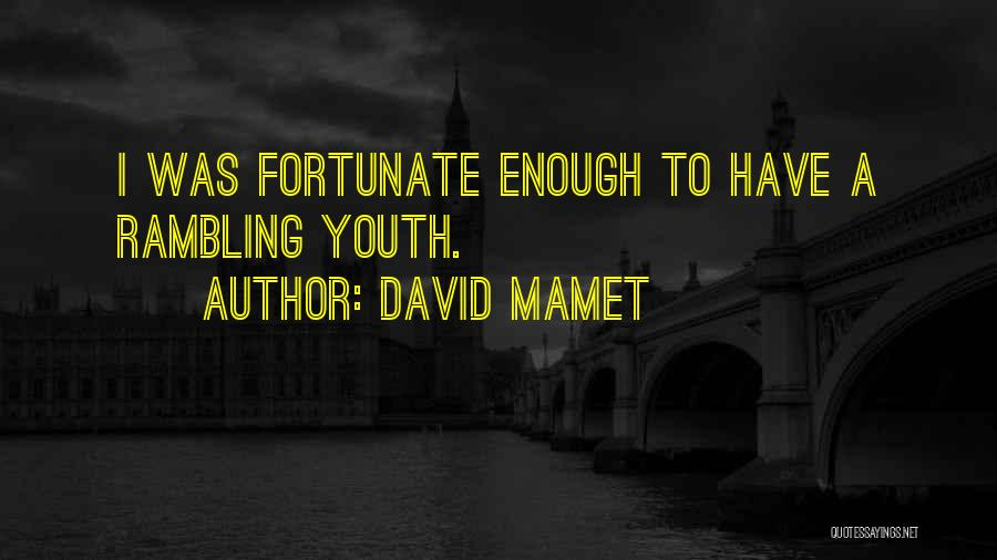 David Mamet Quotes 1728018