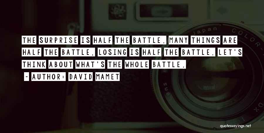 David Mamet Quotes 1912905