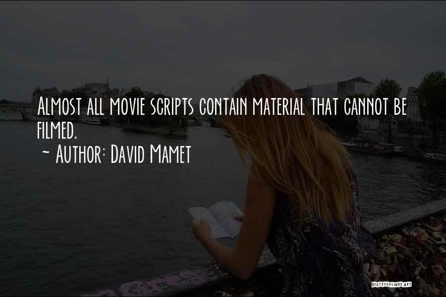 David Mamet Quotes 2028641