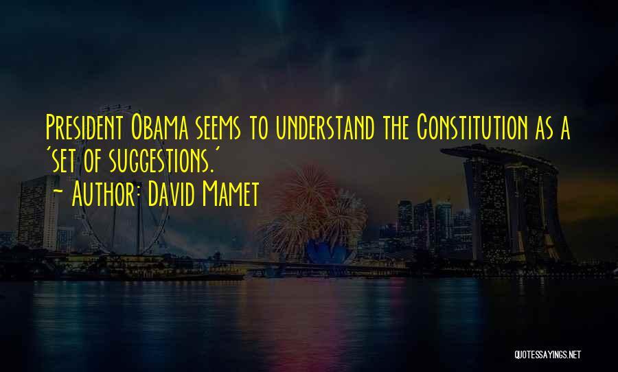 David Mamet Quotes 515736