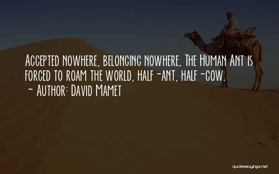 David Mamet Quotes 591207