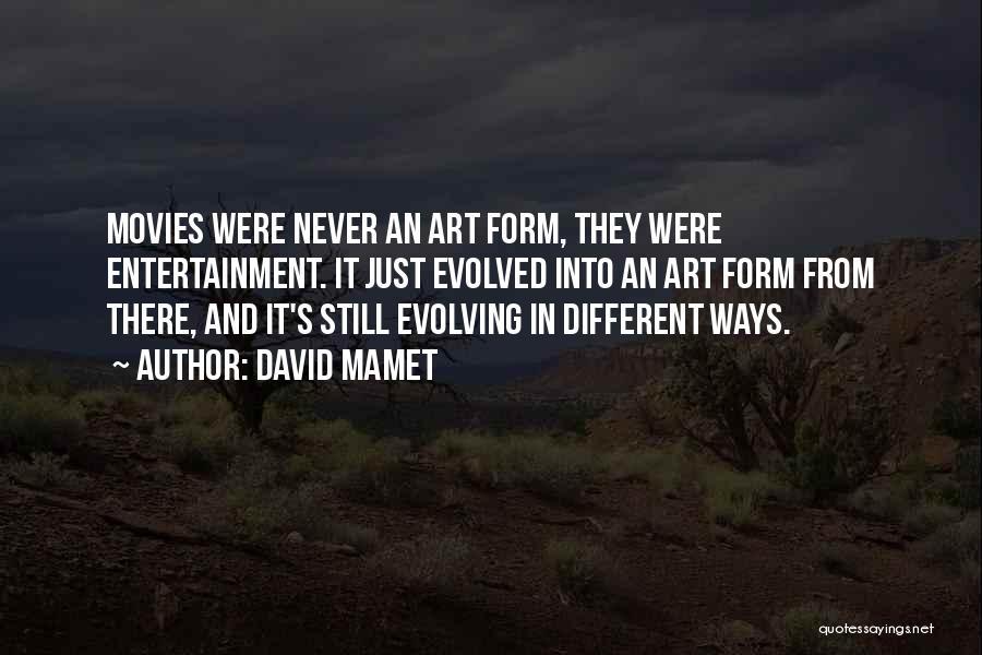 David Mamet Quotes 75783