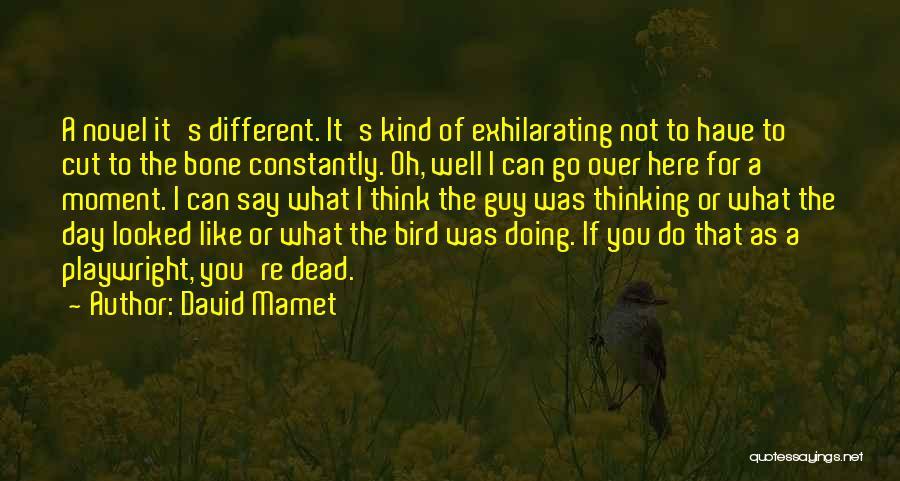 David Mamet Quotes 795082