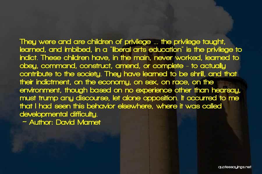 David Mamet Quotes 951780