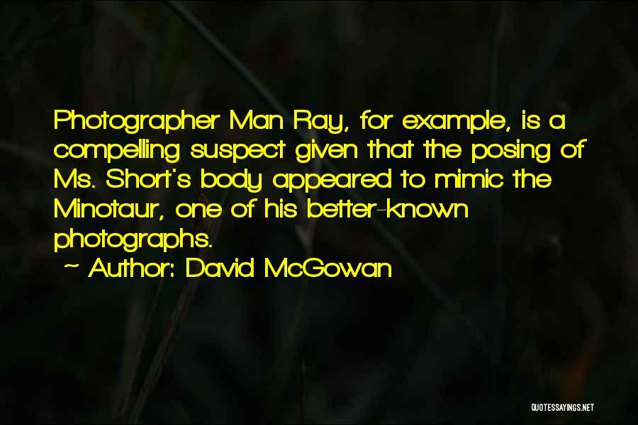 David McGowan Quotes 492347