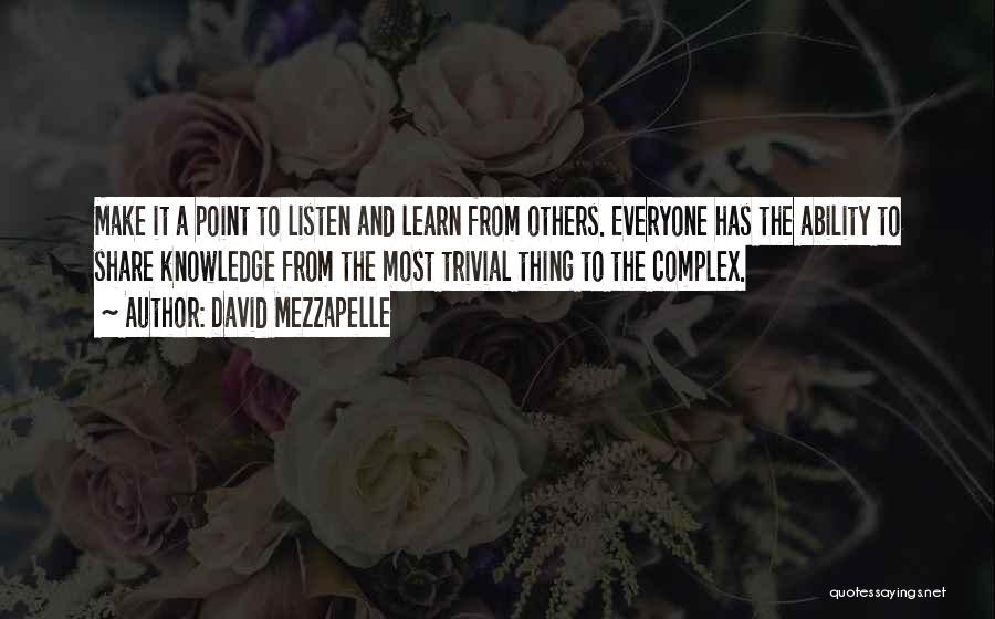 David Mezzapelle Quotes 1282643