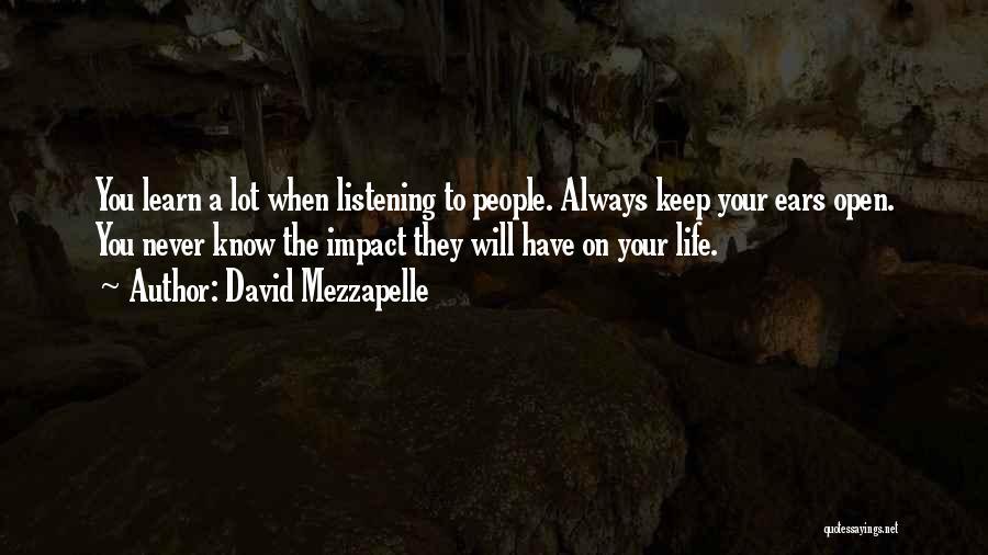 David Mezzapelle Quotes 1413405