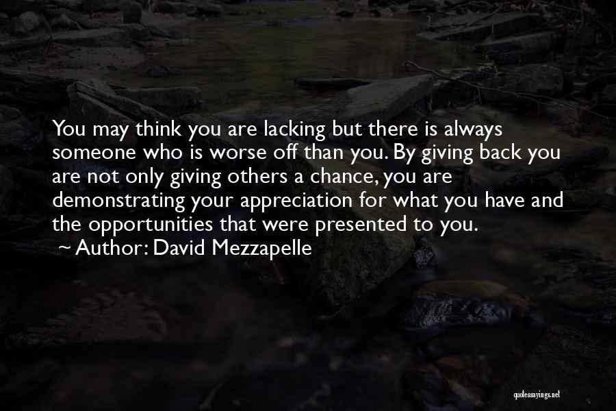 David Mezzapelle Quotes 171303