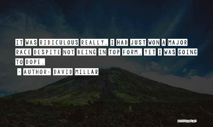 David Millar Quotes 1638562