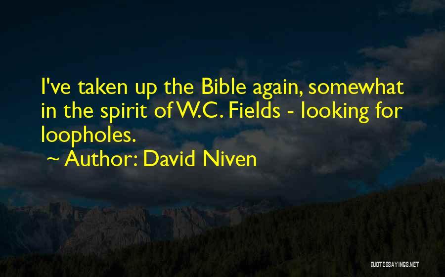 David Niven Quotes 1109634