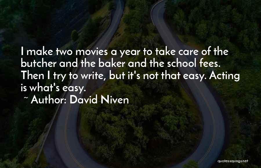 David Niven Quotes 1289935