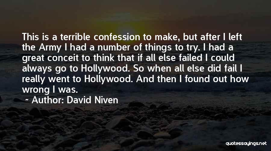 David Niven Quotes 1466201