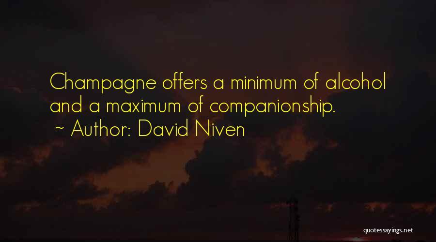 David Niven Quotes 1824474
