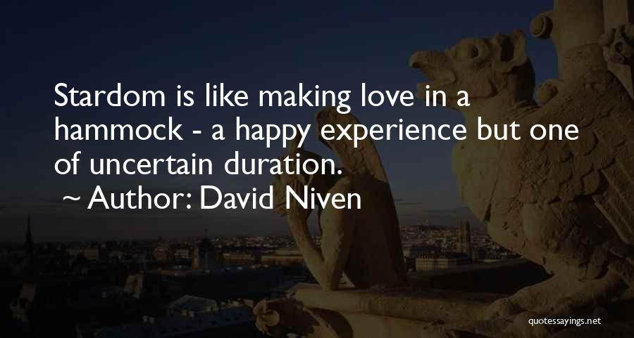 David Niven Quotes 571103