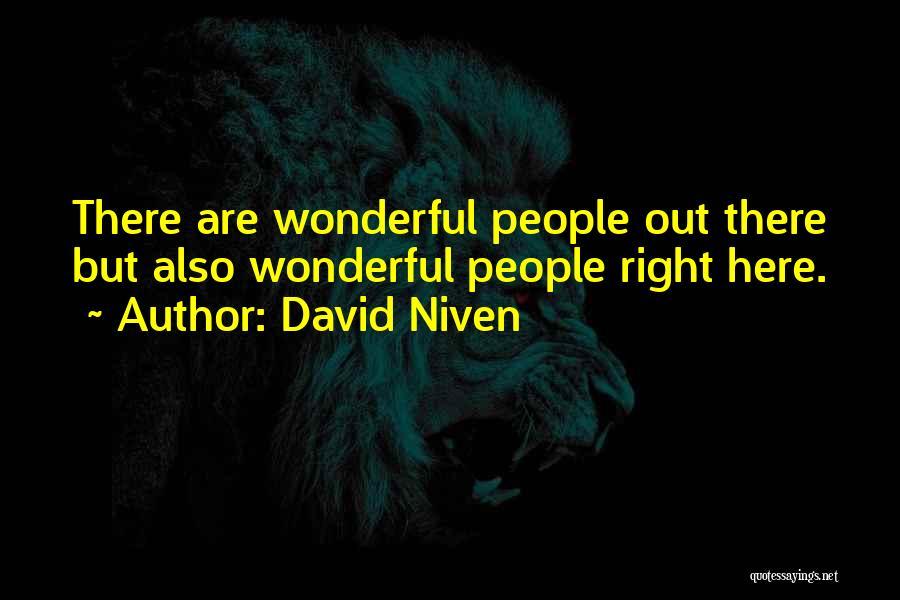 David Niven Quotes 627028