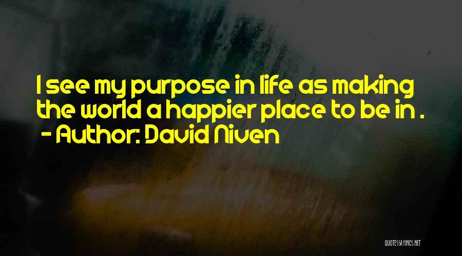 David Niven Quotes 656360