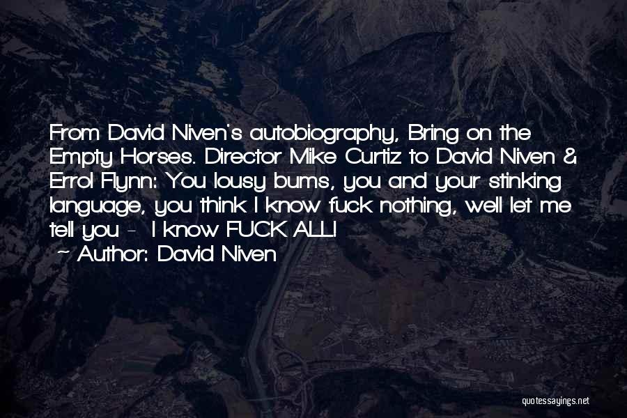 David Niven Quotes 762841