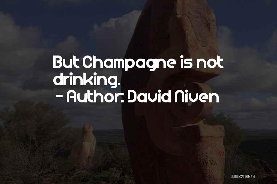 David Niven Quotes 994477