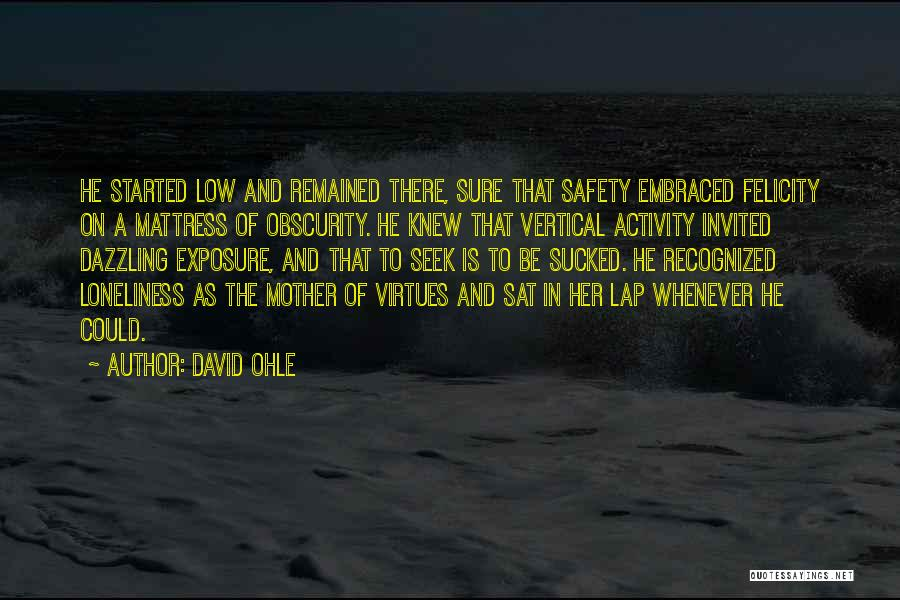 David Ohle Quotes 474521