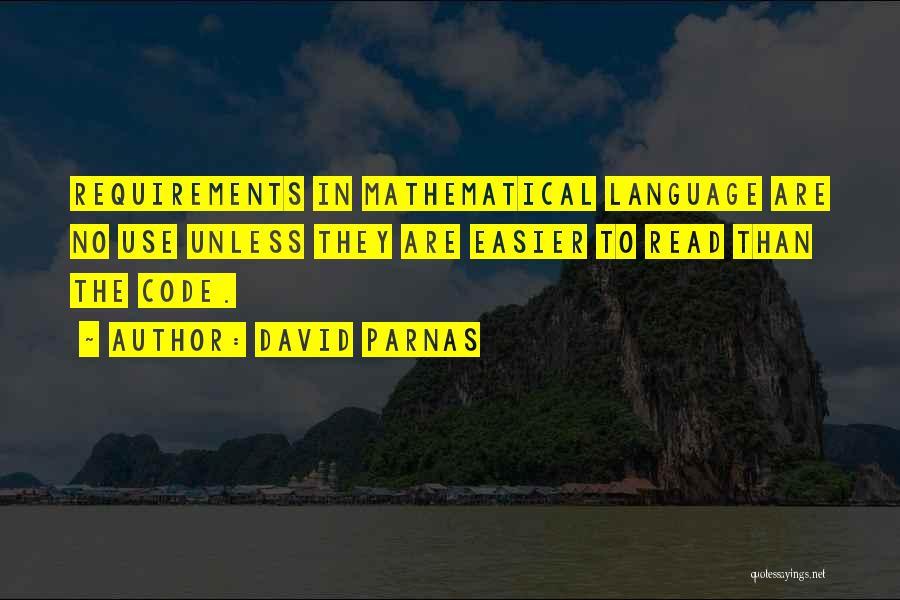 David Parnas Quotes 1251677