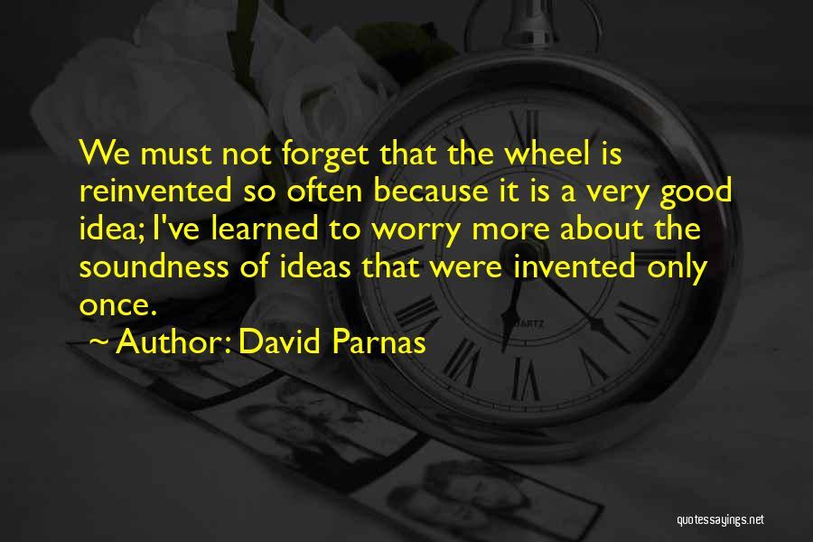 David Parnas Quotes 1865049