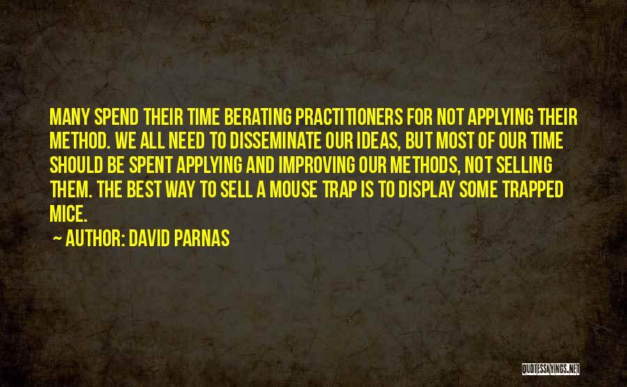 David Parnas Quotes 277411