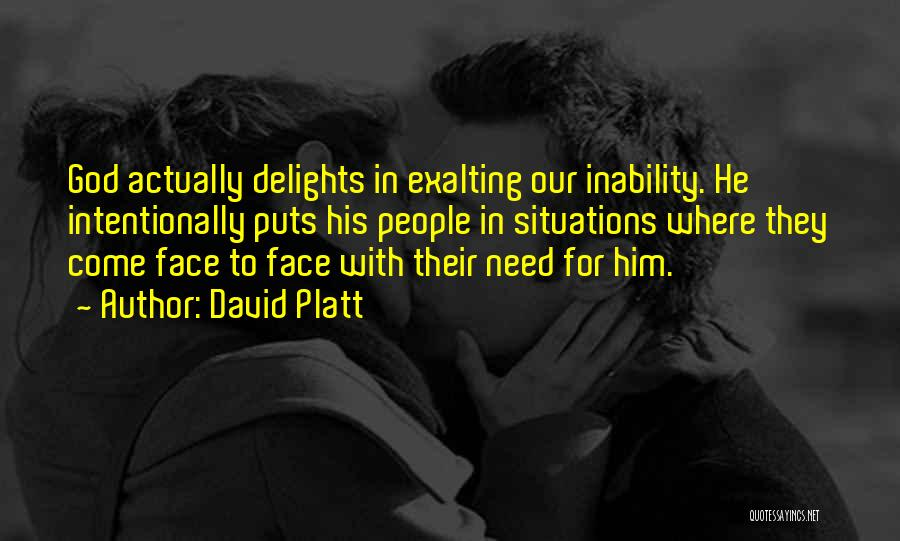 David Platt Quotes 1850686
