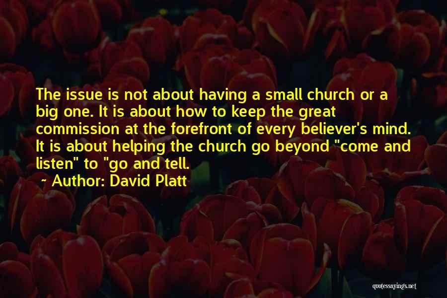 David Platt Quotes 2029836