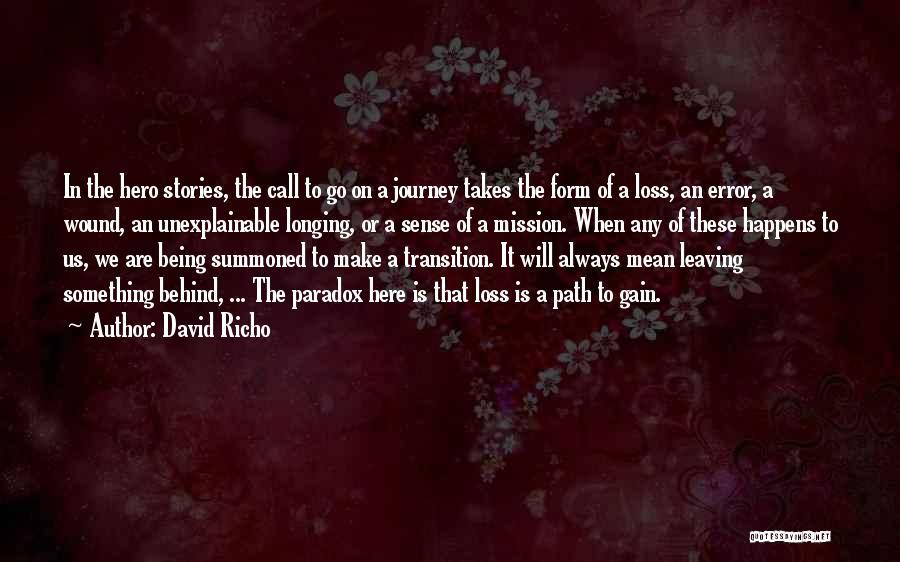 David Richo Quotes 1588340