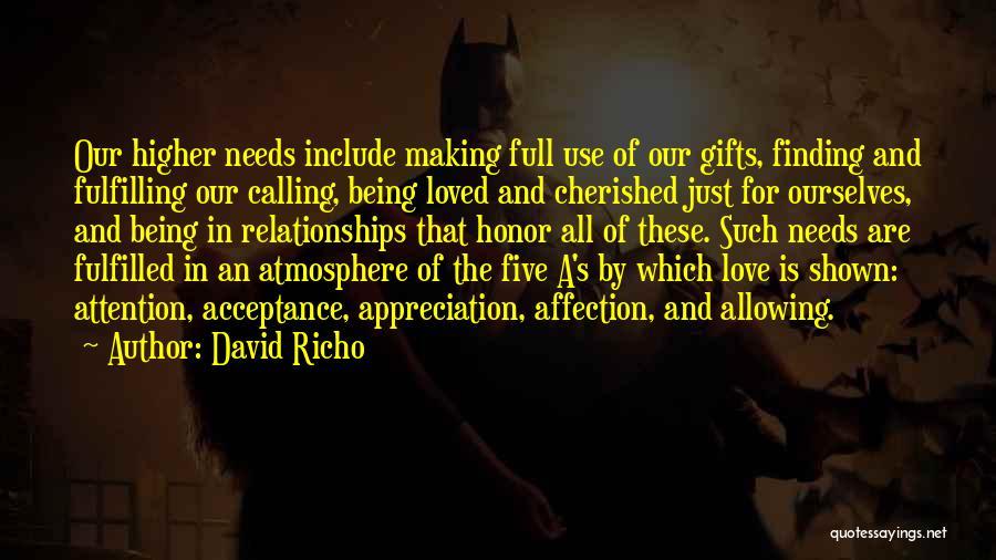 David Richo Quotes 1804617